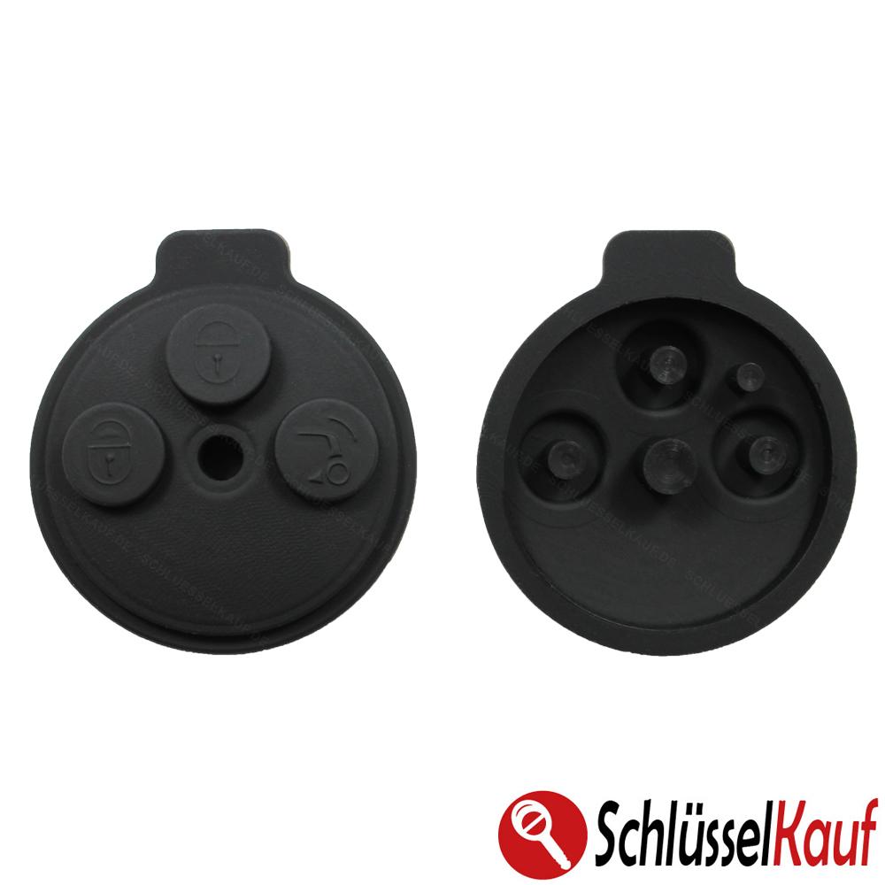 autoschl ssel tastenfeld pad batterie passend f r smart. Black Bedroom Furniture Sets. Home Design Ideas