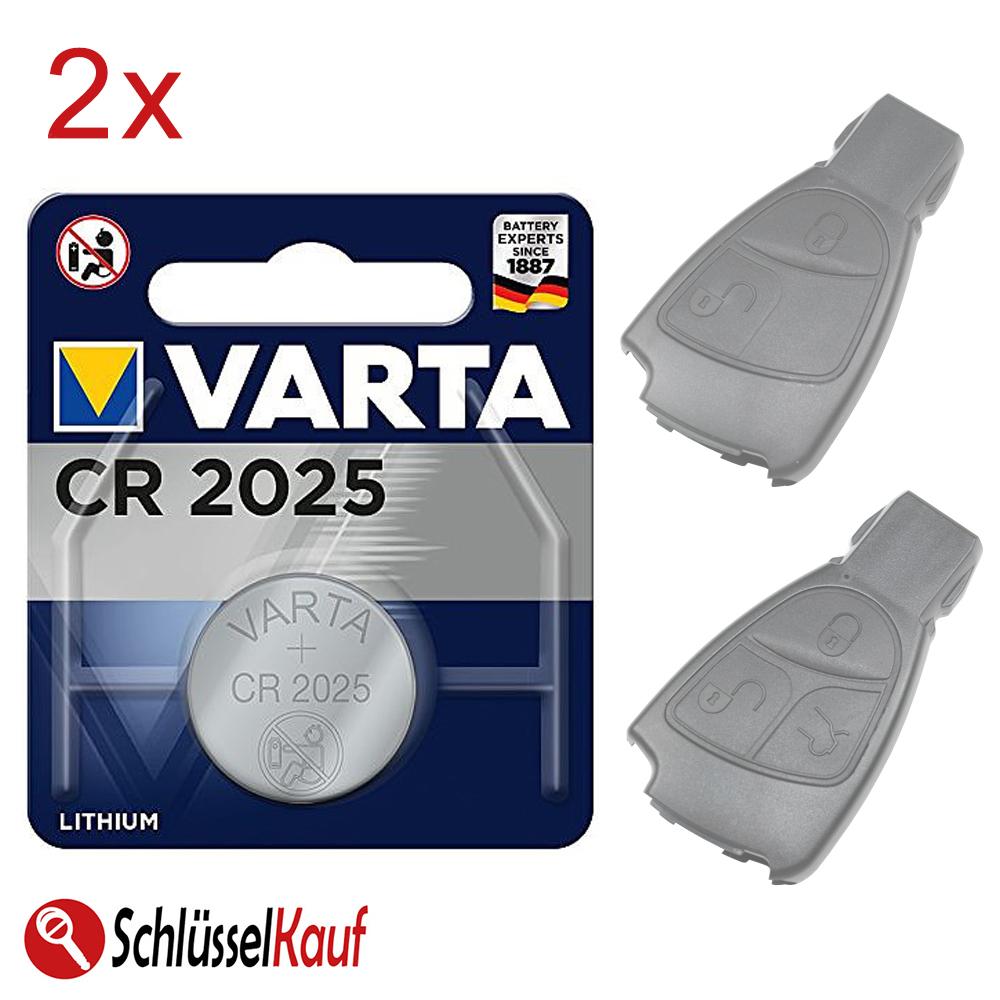 Knopfzellen Set für Autoschlüssel Auto Klapp Schlüssel Funkschlüssel Batterien